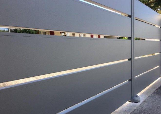 portail aluminium deux battants