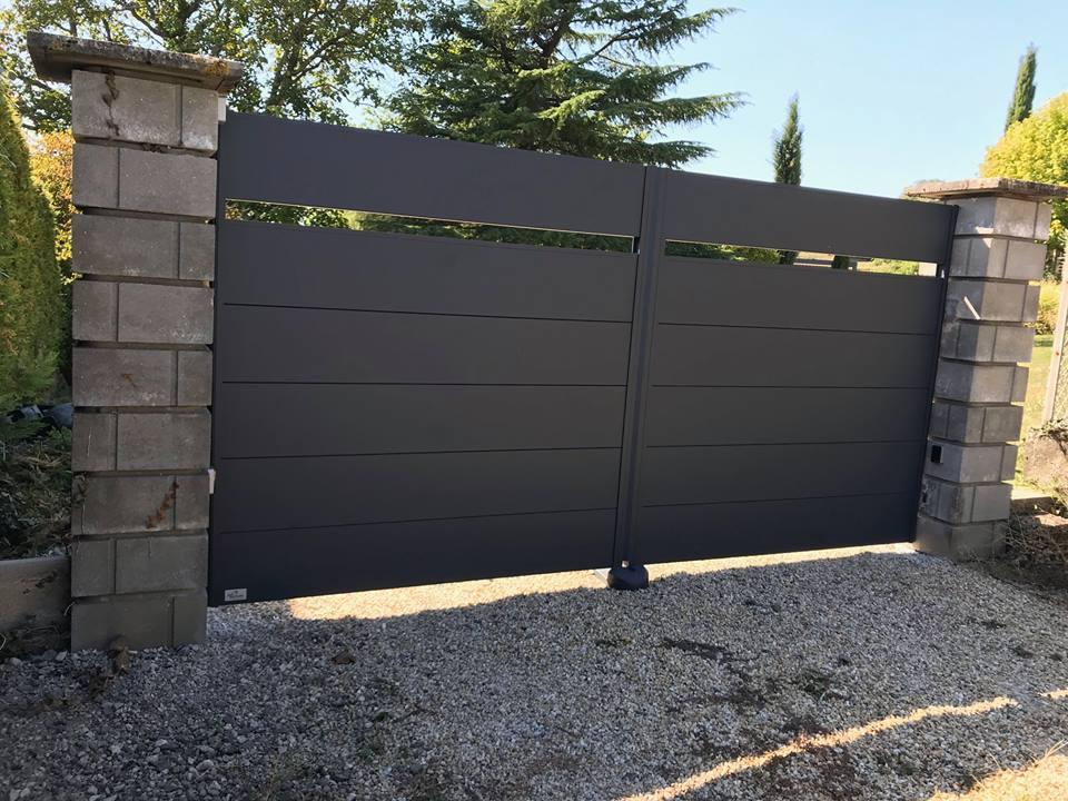 portail aluminium, design et tendance