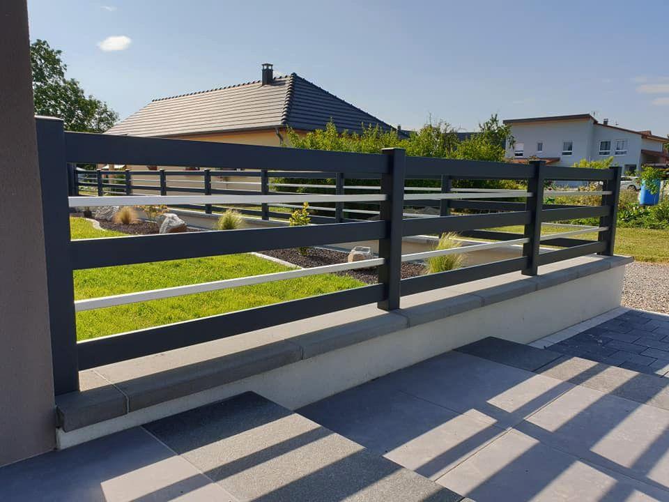 clôture design aluminium alsace