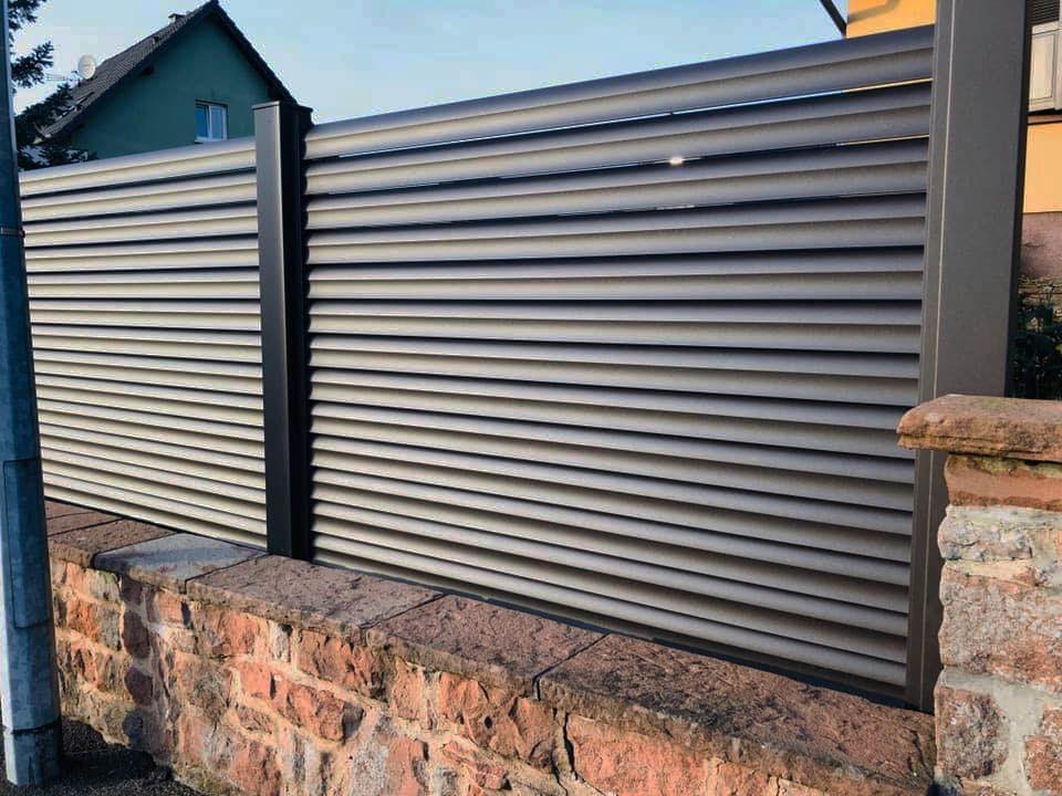 clôture design, de qualité et à prix attractif